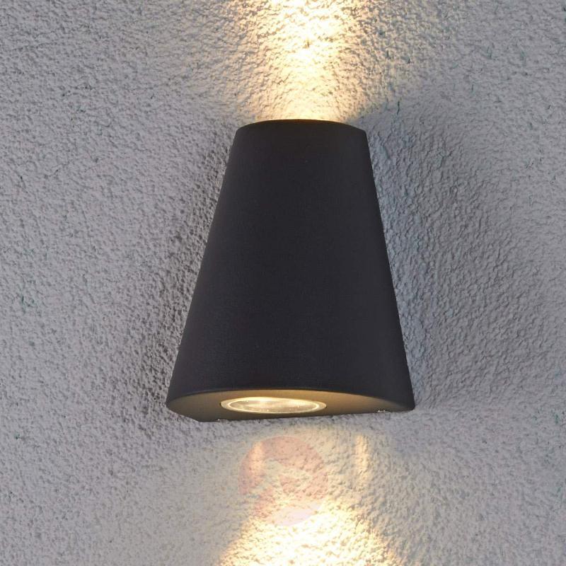 Aleynda double shining LED outdoor light - Outdoor Wall Lights