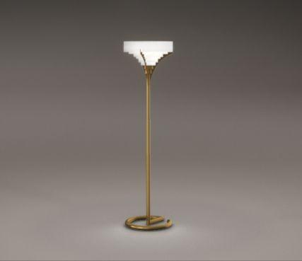 lampadaire art deco - Modèle 13 C