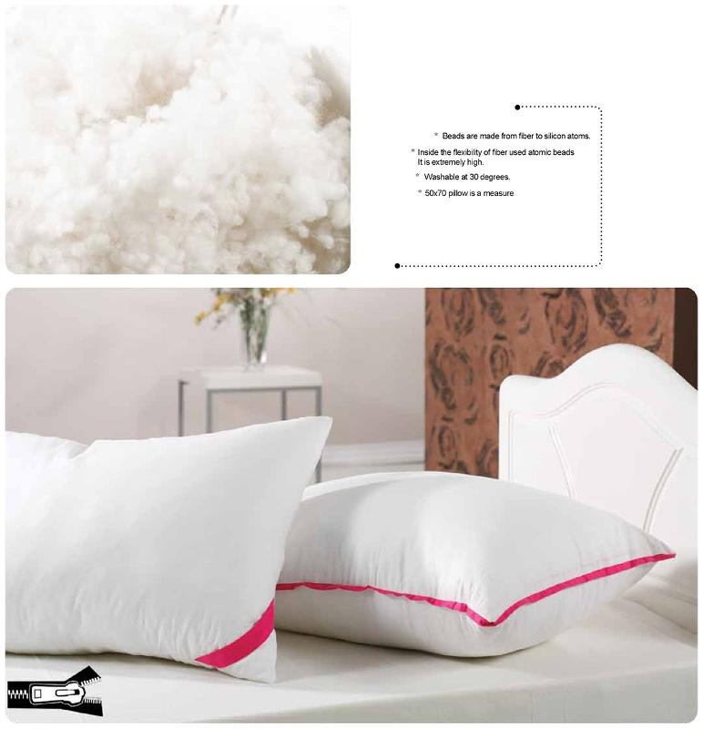 Fennel Siliconated Sleep - pillow