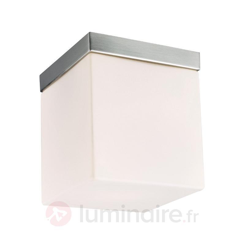 Plafonnier épuré Livia 16 cm - Plafonniers chromés/nickel/inox