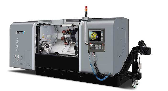 Lathe - TM 18 Li - The ideal machine for turning medium sized parts