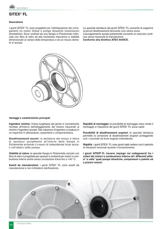 Giunti mobili - Controllo e Trasmissione del Moto Albero-Albero