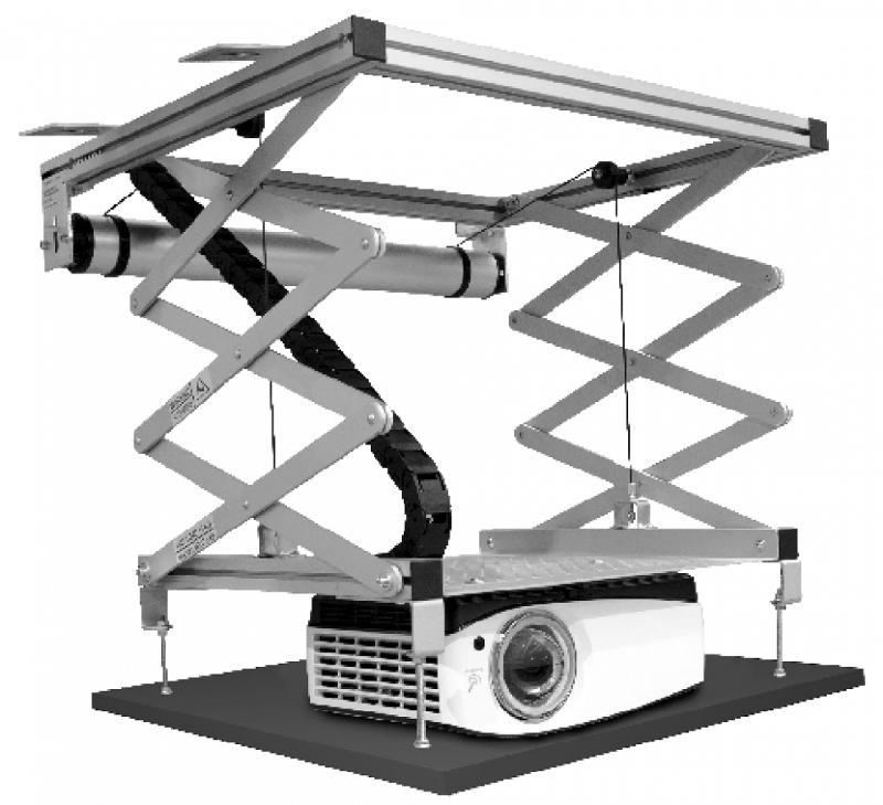 Lifts pour projecteurs - MVS 100-15