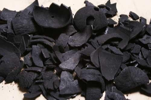 Coconut shell charcoal -