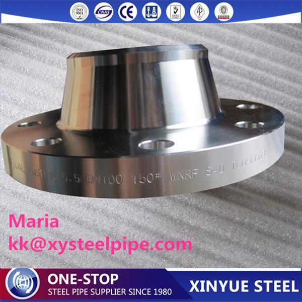 Bride de tuyau en acier au carbone forgé de haute qualité