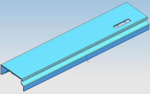 Moule progressif inférieur du faisceau avant du réfrigérateu - Faisceau avant inférieur de réfrigérateur