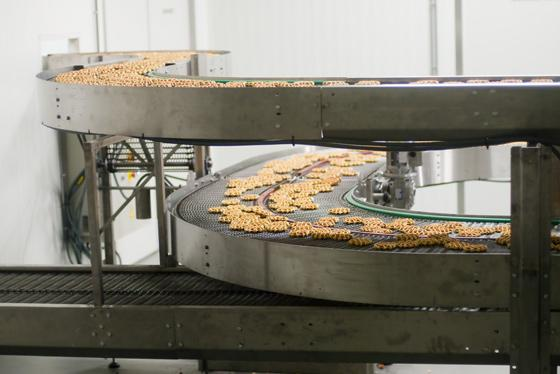 Equipments for cookies and waffles industries - Conveyor belts