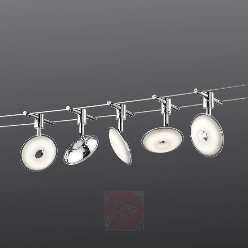 Pilatus cable system with five LED lights - Cable Lighting Kits