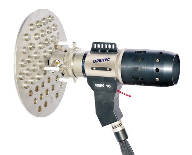 RBK 16 - Tube-to-tube-sheet weld head for orbital welding - RBK 16, Orbitec