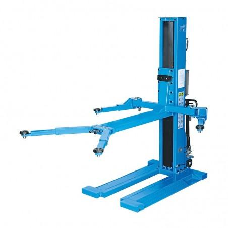 RP-Tools Hydraulic 1-post lift, 2.5 t, extra low - Ponts colonnes