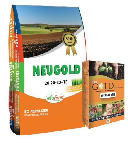 NeuGold 20-20-20+TE NeuGold 15-30-15+ME - ENGRAİS CHİMİQUE NPK NeuGold