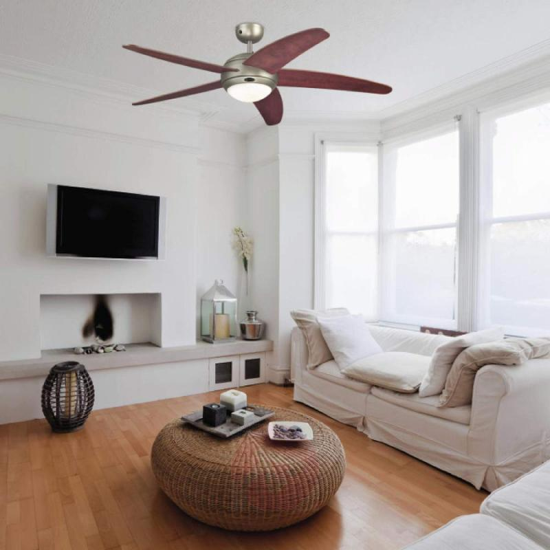 Bendan ceiling fan in dark pewter - fans