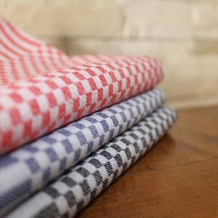Linge de table : bavoirs et nappes - Lot de 12 serviettes de table MINI coton