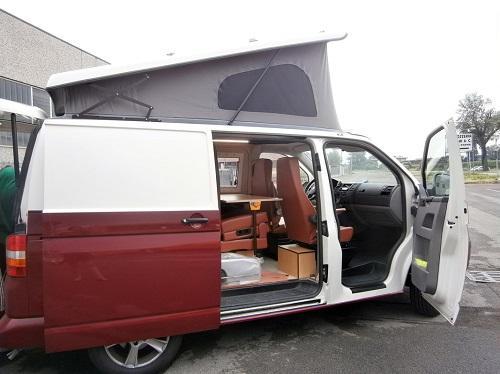 Camperizzazione  - Trasformazione furgone in camper