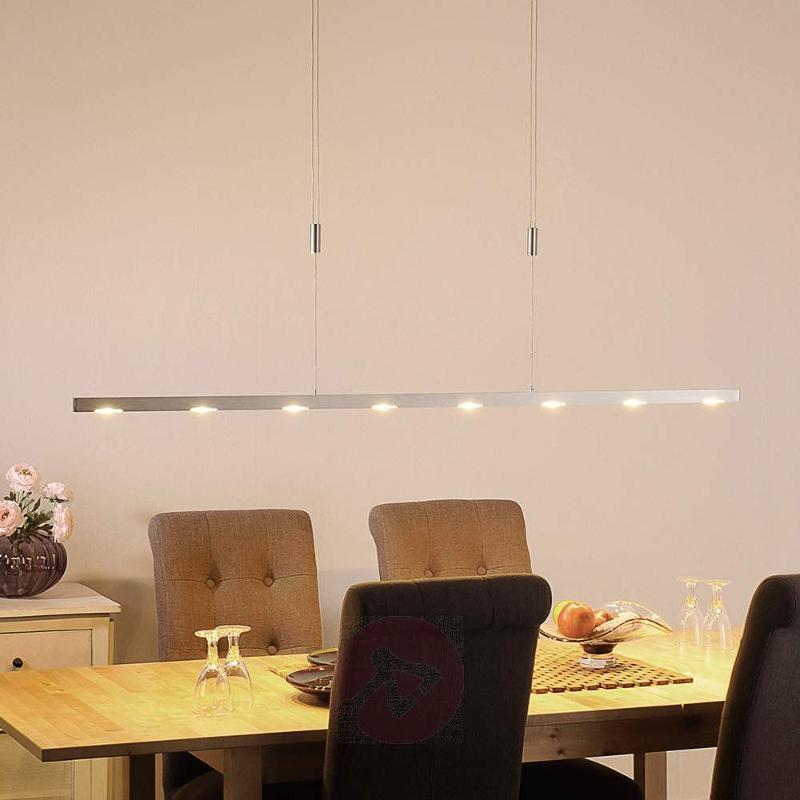 Sina pendant light with LED - matt nickel 159 cm - Pendant Lighting