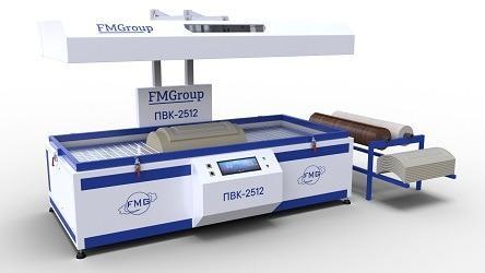 Thermal vacuum press - model PV-2412