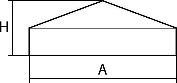 N15 Embouts carrés avec godron - Capes coiffantes lisses multi-usages