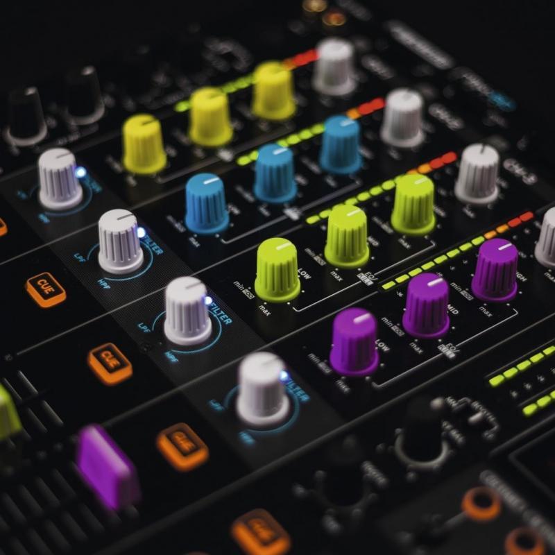 DJ-Zubehör - Reloop Knob Cap Set blue