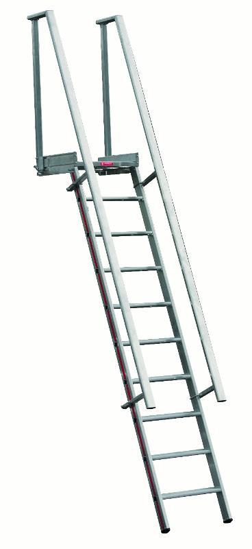 Echelles simples à barreaux / à marches  - Escabeau d'accès à plateforme