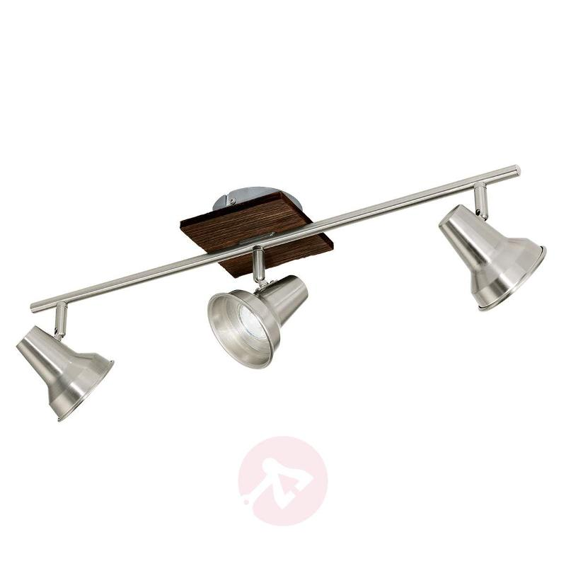 Modern Filipina ceiling light with wood decoration - Ceiling Lights
