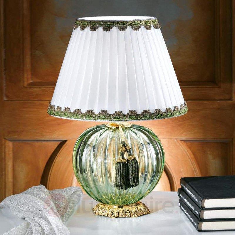 Lampe à poser Maureen en verre de Murano - Lampes de chevet