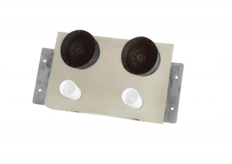 Warm-/ Kaltwasserzähler 25-WZ2-T - SANHA®-Box - Einbaubox Warm-/ Kaltwasserzähler
