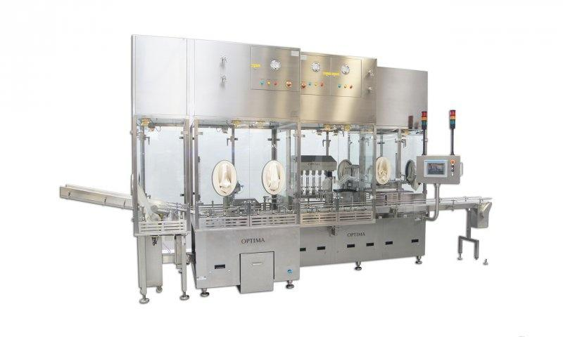 Fully-automatic Filling and Closing Machine INOVA H / SV - Filling and Closing Machine INOVA H / SV: Nested Syringes, Vials and Cartridges