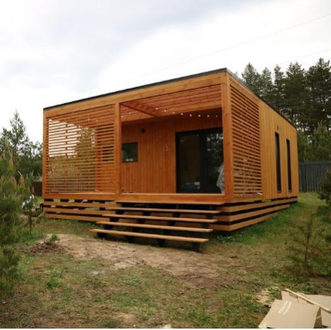 Модульный дом 32 м2 - Современный модульный дом 32 м2