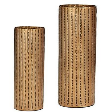 Metal Decorative Vases Metal Hammered Vases The Home Gifts India