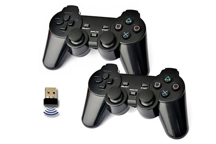 Double Wireless Gamepad for PC - STK-DW505U
