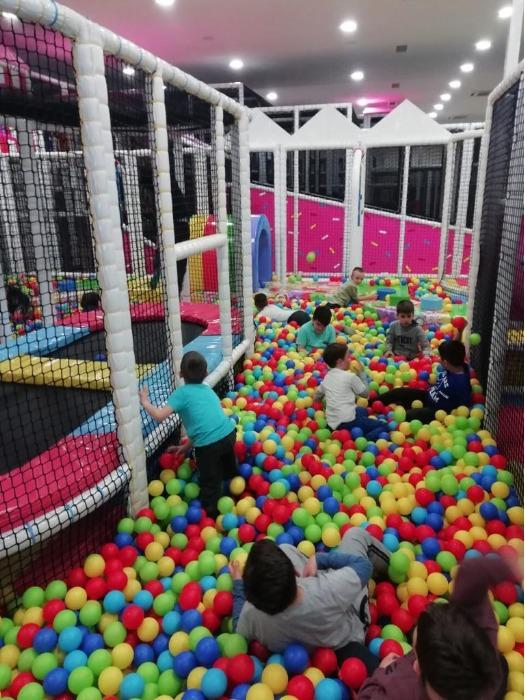 indoor children playground equipment - indoor play equipments consist of soft play, ball pits, adventure courses etc...