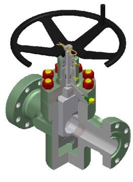 ON-OFF Service Valve, Slab Gate - Valves and Actuators