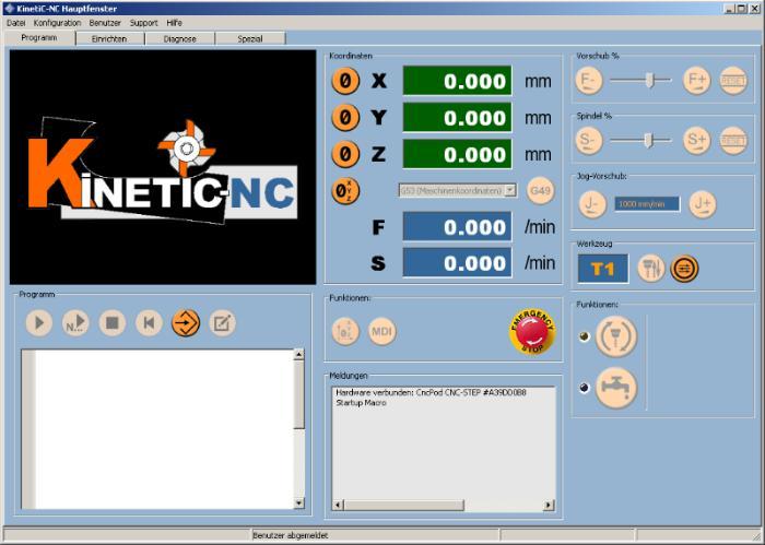 KinetiC-NC - CNC Steuerungssoftware
