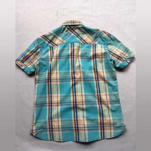 Camisa de manga corta casual para hombre - Camisa de manga corta casual de hombre