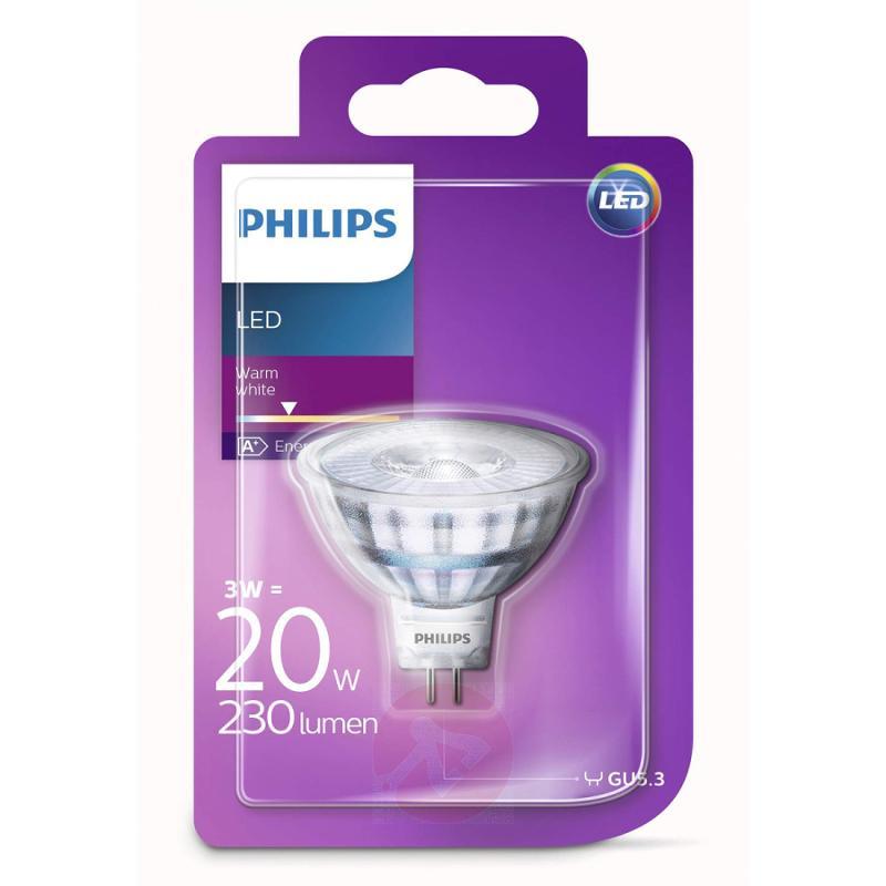 GU5.3 3 W 827 NV LED reflector 36° - light-bulbs