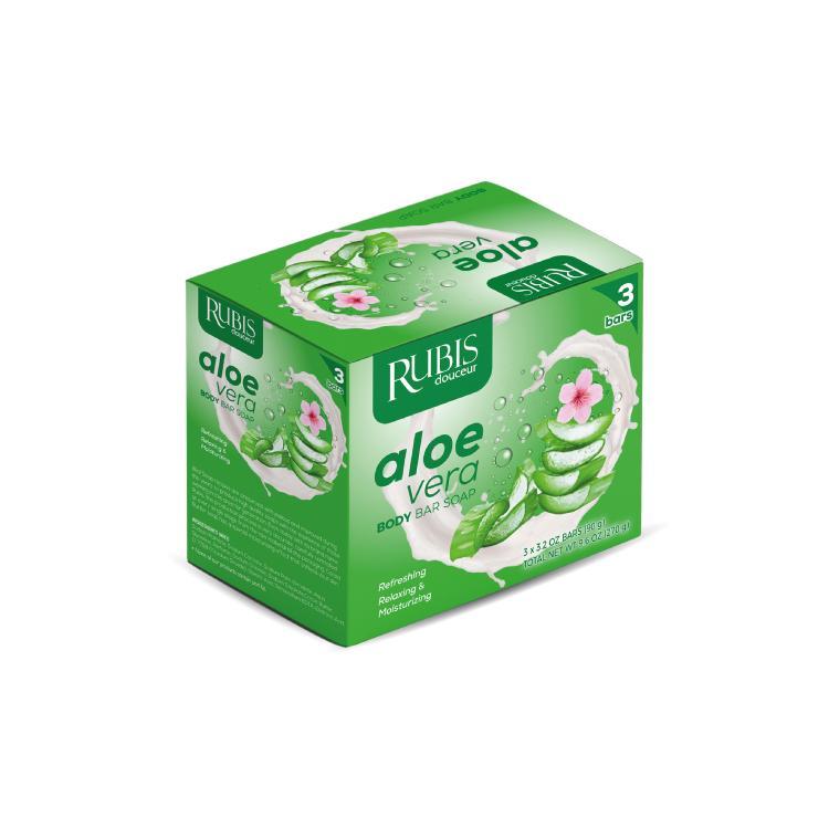 Rubis – 3 X 90 Gr Soap In A Box - Soap In A Box