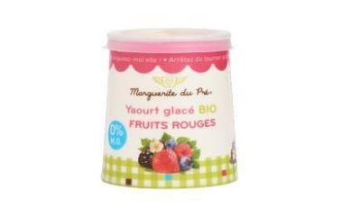 Yaourt glacé fruits rouges - Glaces biologiques et surgelées