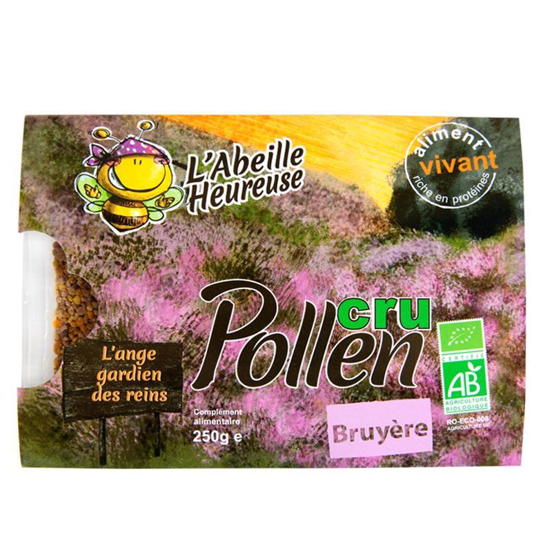 Pollen de bruyère - Pollen biologique et surgelé