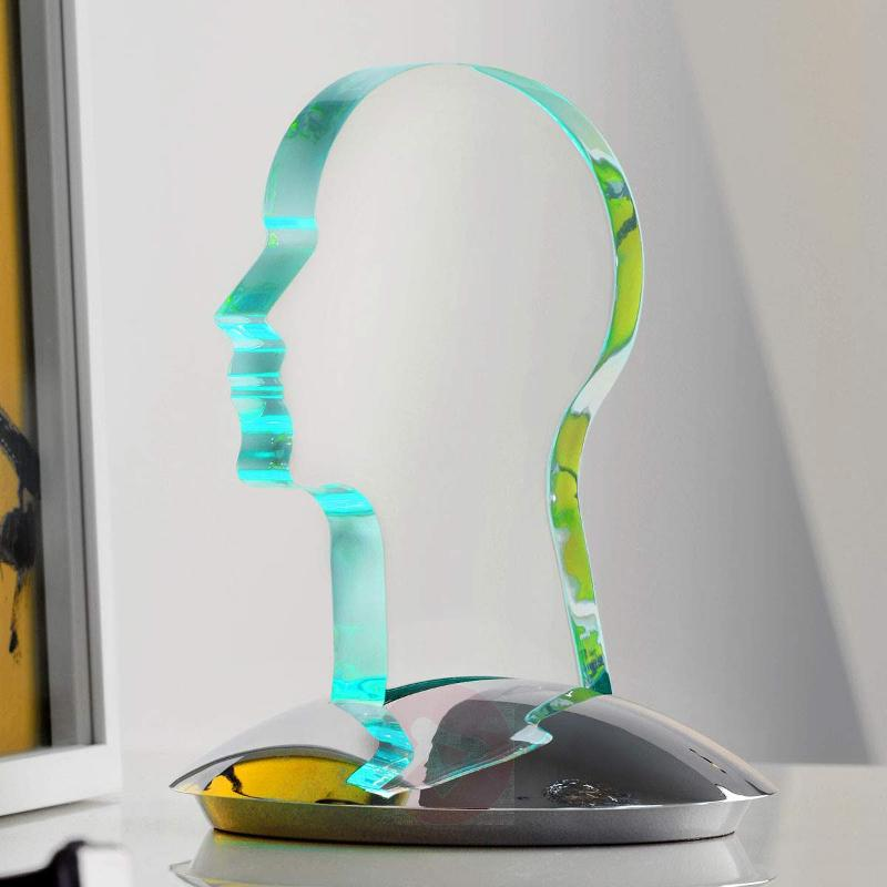 Head - LED table lamp with colour change function - Table Lamps