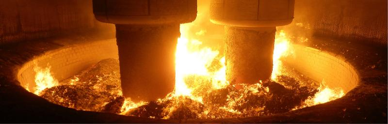 Submerged arc furnace (silicon & special metallurgy) - Primary products