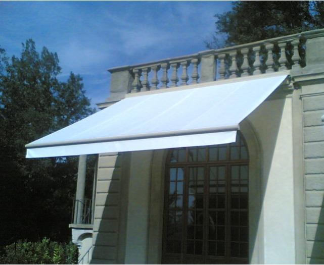 Tenda da sole a bracci - Tenda da sole a bracci con cassonetto sporgenza fino a 550 cm