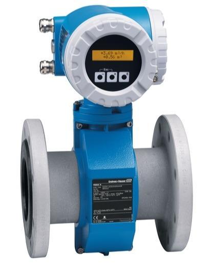 debit mesure produits - debitmetre electromagnetique promag 50W