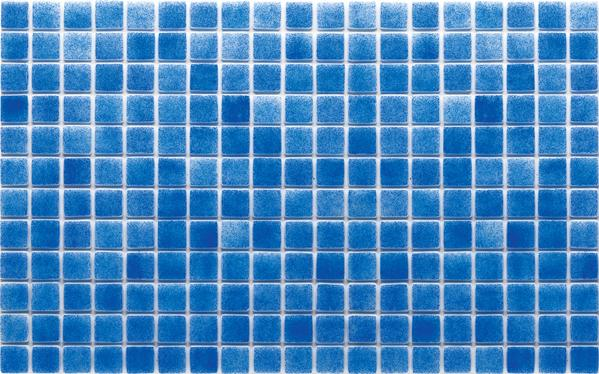 F.02 - 25x25x5,5mm Glass Mosaic Tile with SilyCord System