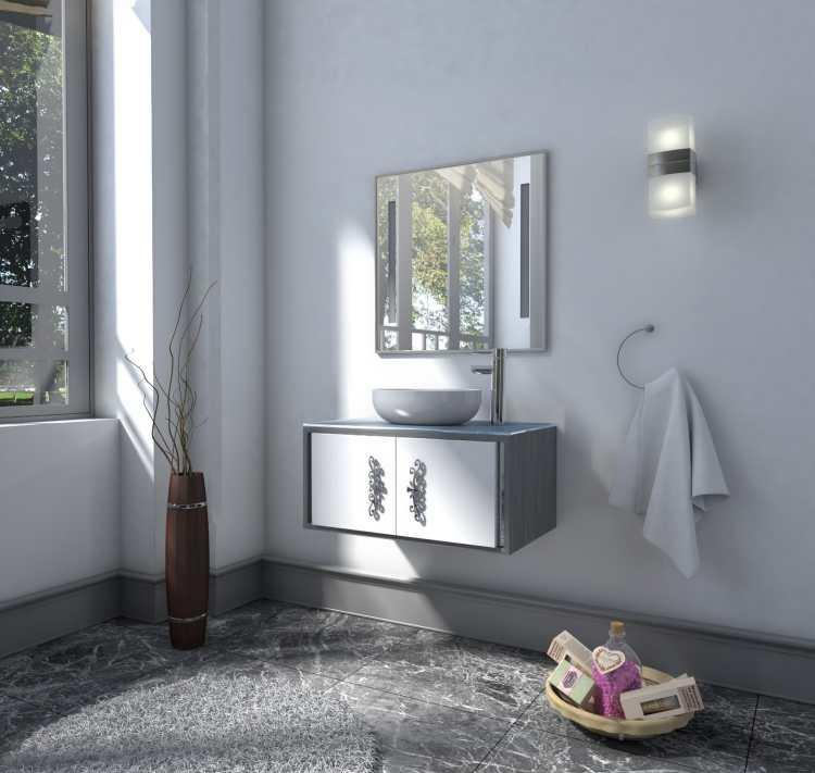 Basco Zero (BA1006-80) - Bathroom vanity -