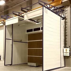 INDUSTRIAL LIQUID PAINTING SYSTEMS - Customized wet painting line solutions