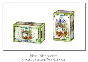 """Tisane biologique Mélisse """"Romon Nature"""" - Référence : MELISSE"""