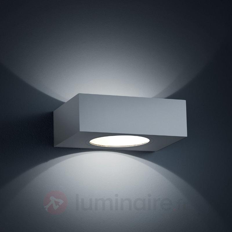 Applique d'extérieur LED Look gris argenté - Appliques d'extérieur LED