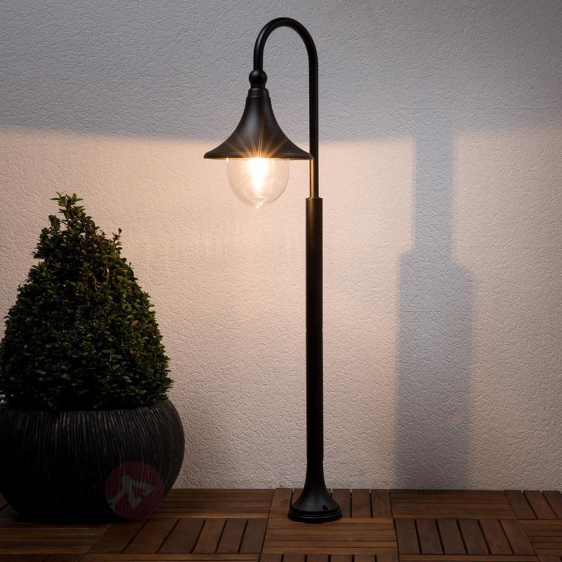 Borne lumineuse Daphné noire - Toutes les bornes lumineuses