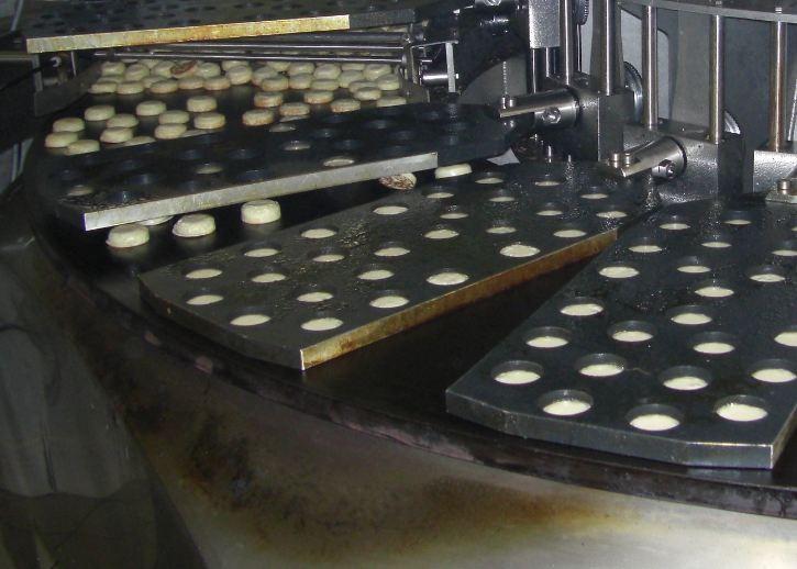 Machine Automatique cuisson 2 faces sur plaque et retourneur - Blinis
