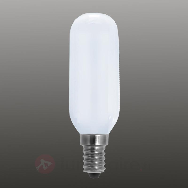 Lampe LED tube E14 4W mate à int variable - Ampoules LED E14